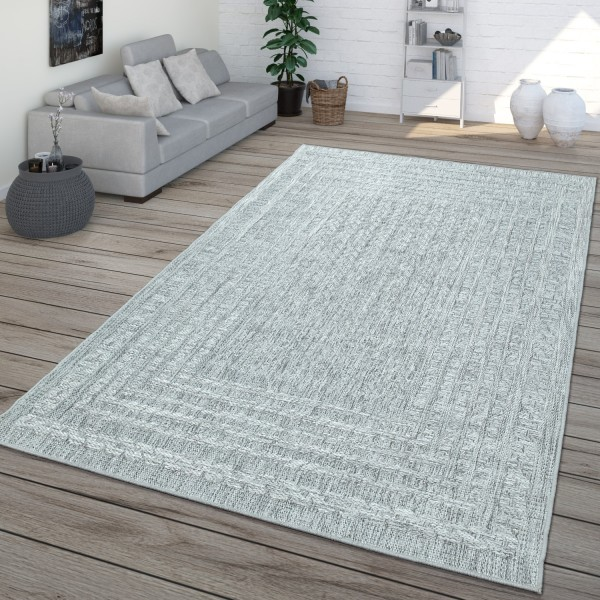 In- & Outdoor-Teppich Sisal-Look Skandi
