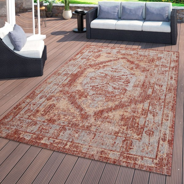 In- & Outdoor-Teppich Orient-Design Balkon