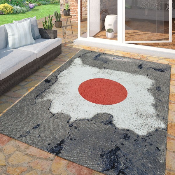 Outdoor Teppich Flagge Japan