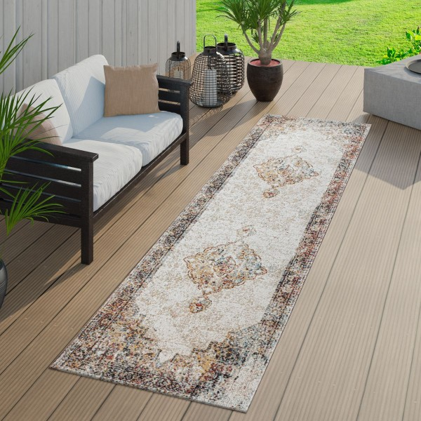 In- & Outdoor-Teppich Orient-Look Balkon Terrasse